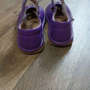 little maes boutique Shoes - Purple Mary Jane shoes.